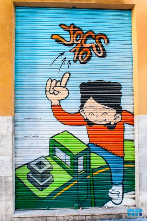 Graffiti - Kunst oder Chaos?